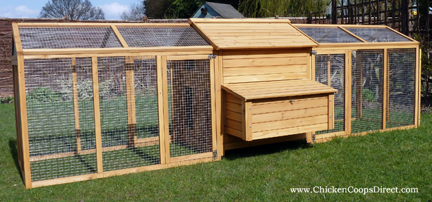 Large Hen House With Large Run