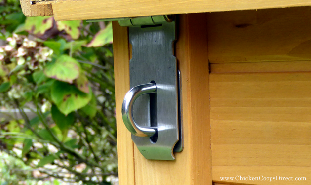 Coop Nesting Box  Latches