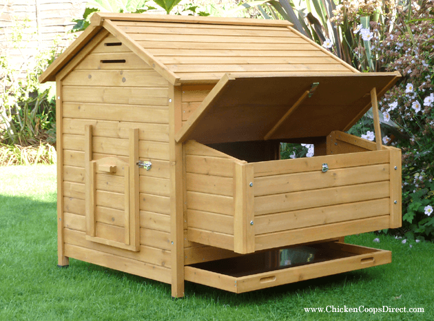 Wooden Hen House