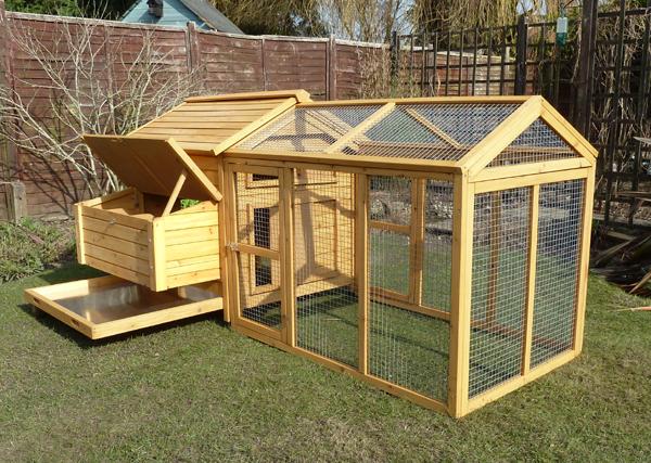 Chicken house run for Building a hen house
