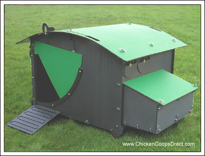 Green Frog Eco Hen House