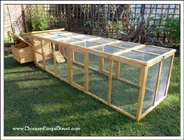 Wooden Chicken Coop UK