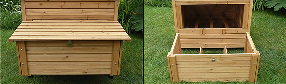 Large hen nesting box