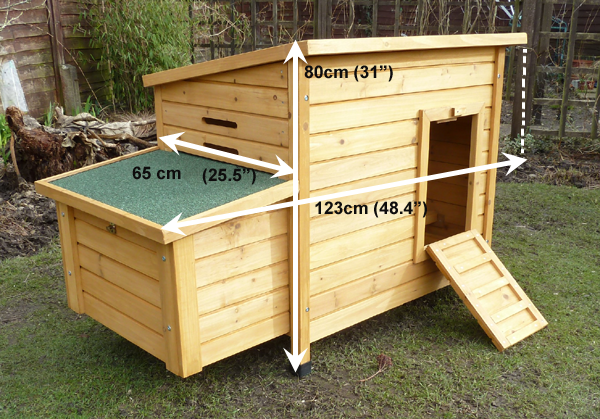 Kent chicken coop measurements