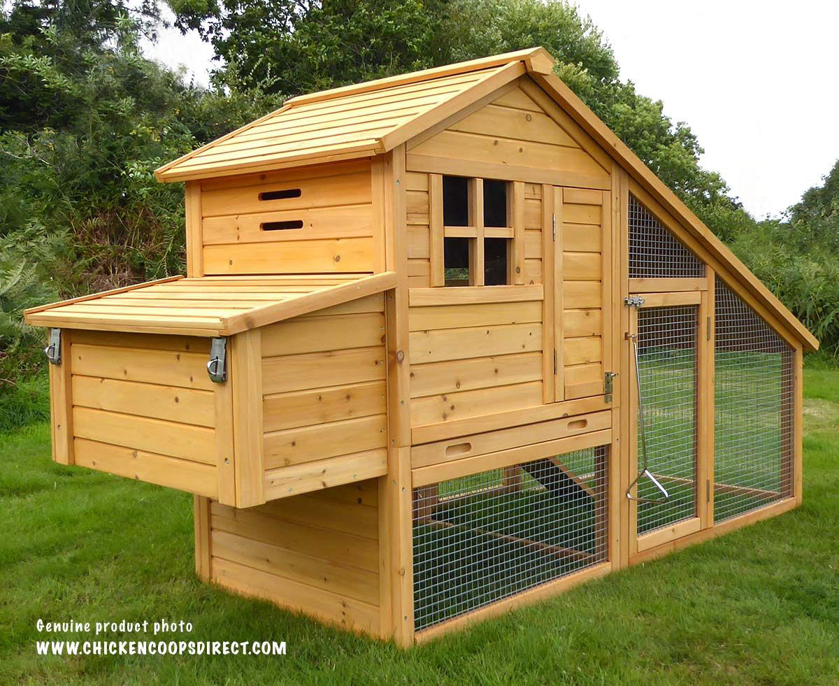 Sussex chicken house for Small chicken coop with run