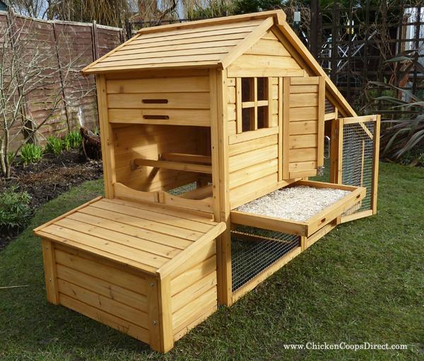 Sussex Chicken House With Run