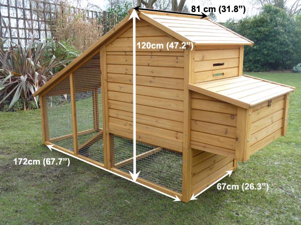 Sussex Chicken Coop Measurement