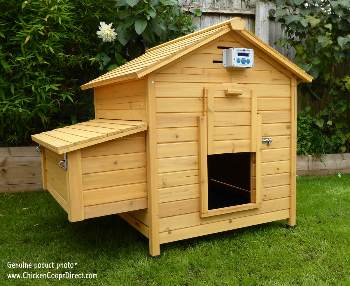 Chicken Coop With Door Opener
