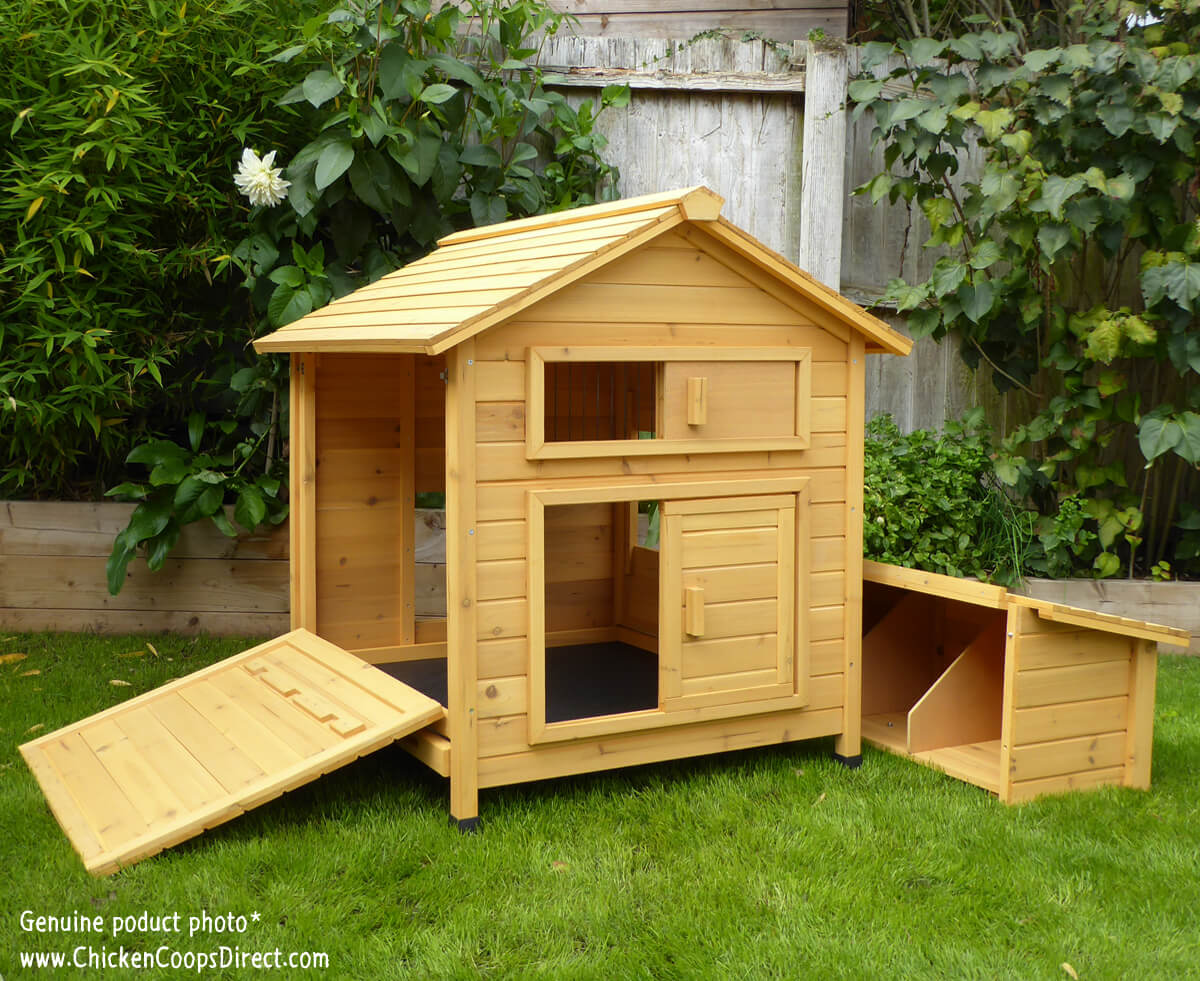 Hen House With Removeable Nesting Box
