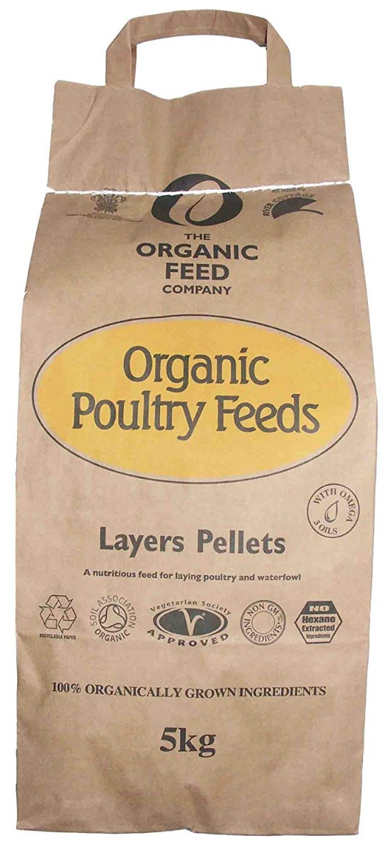 organic chicken feed 5kg