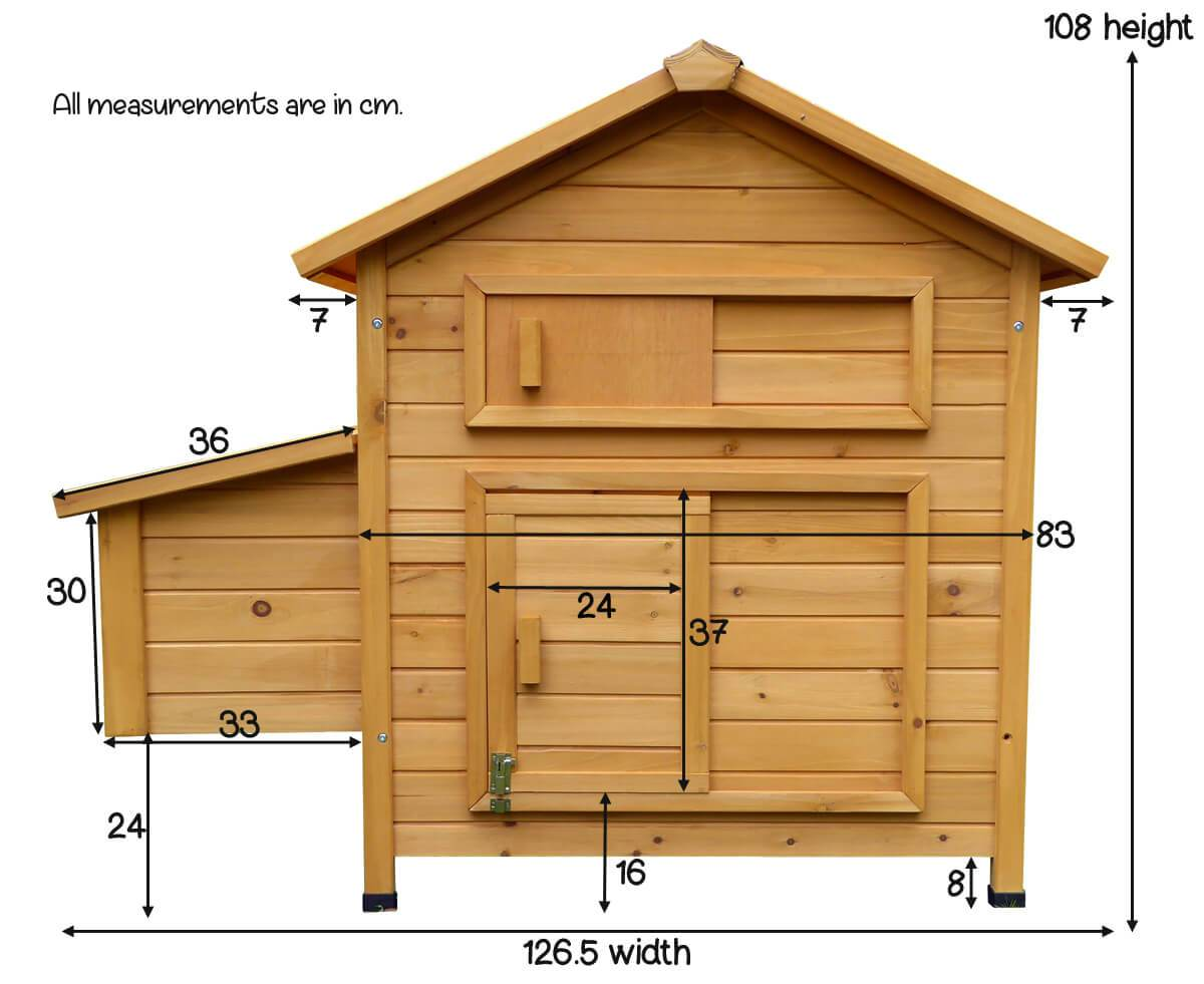 Measurements Of The Devon Hen House
