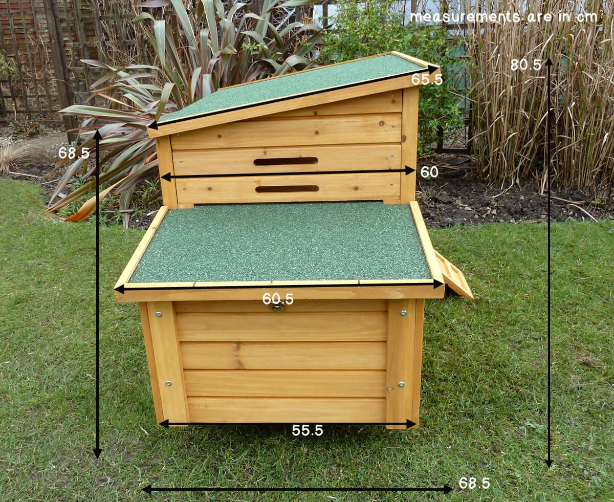 Kent Chicken House Size