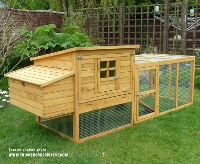 Dorset Chicken Coop & Run
