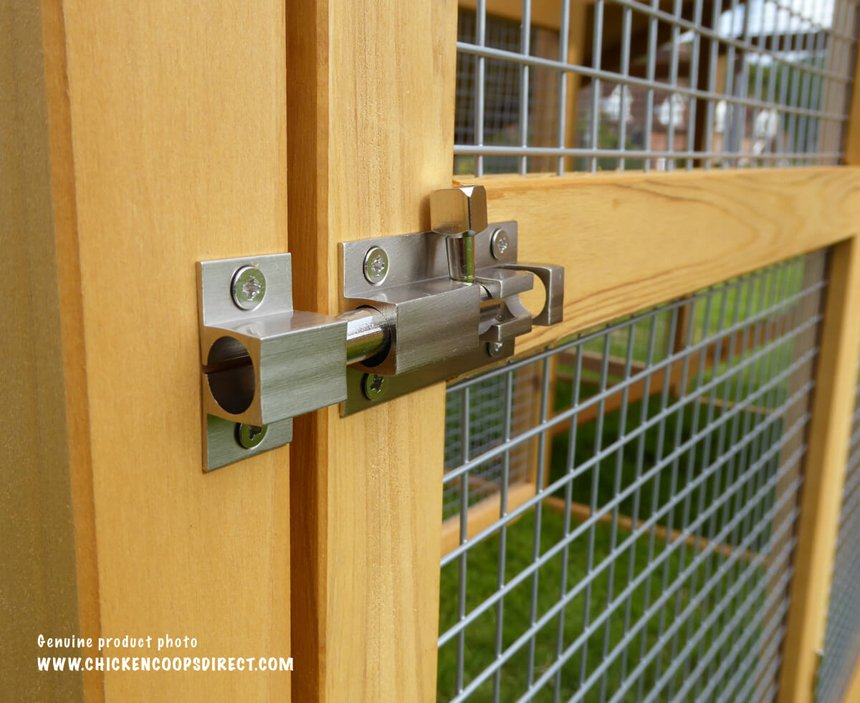 thick wire and solid locks