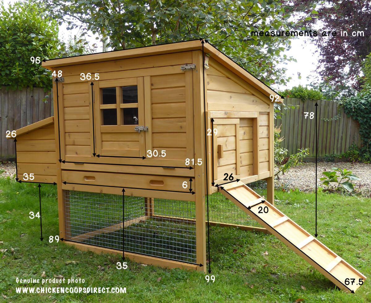 Dorset Chicken House Measurements