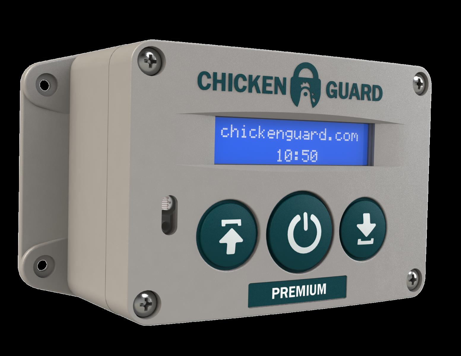 ChickenGuard Premium Version Automatic Door Opener