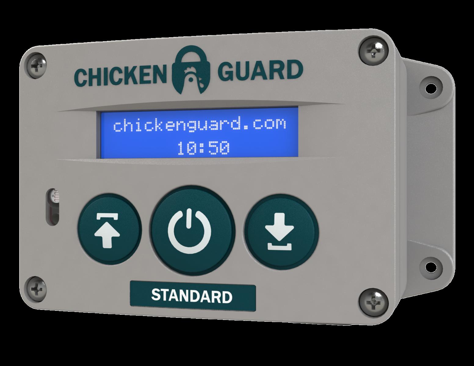 Automatic Door Opener For The Devon Chicken Coop