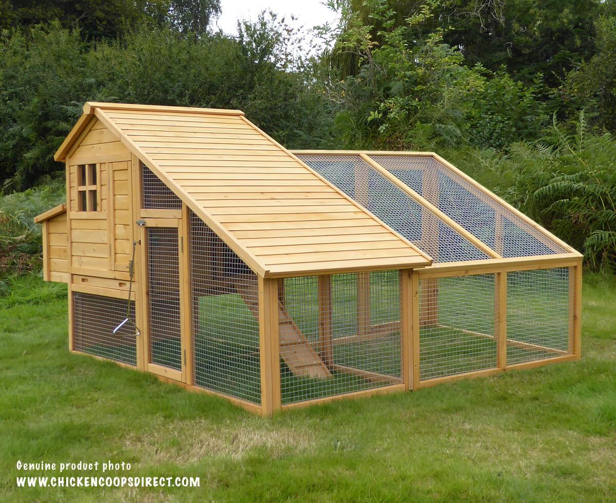 The Sussex Chicken Coop With A Sussex Run attached